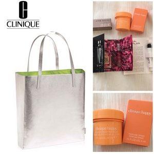 Clinique Tote & HAPPY Product Bundle
